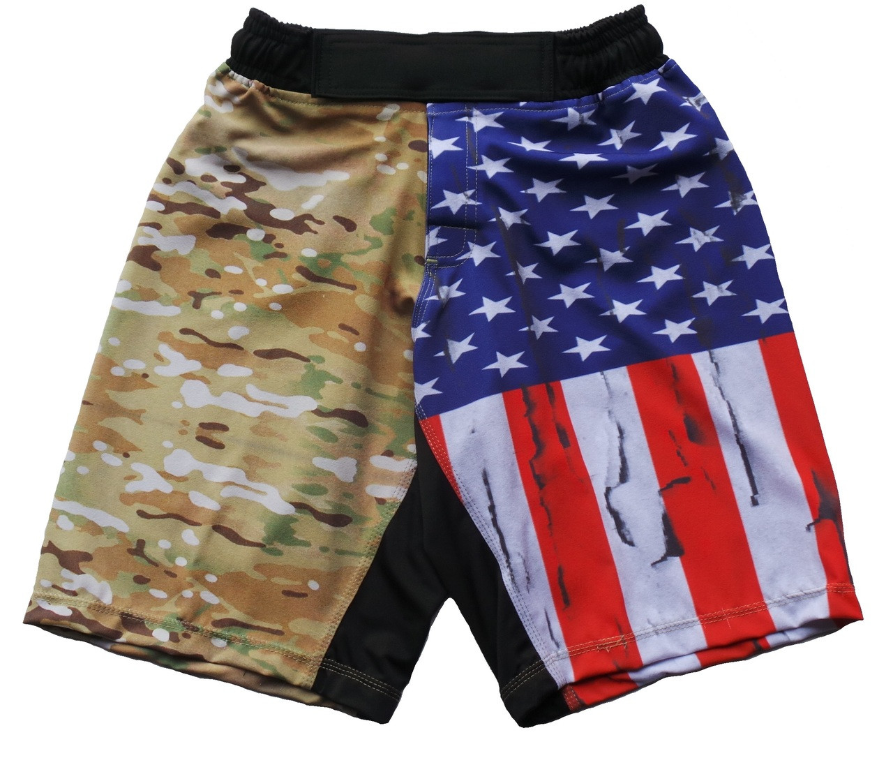 ccbf3eb822 Multicam Flag Athletic Shorts designed for Crossfit - Combatives ...