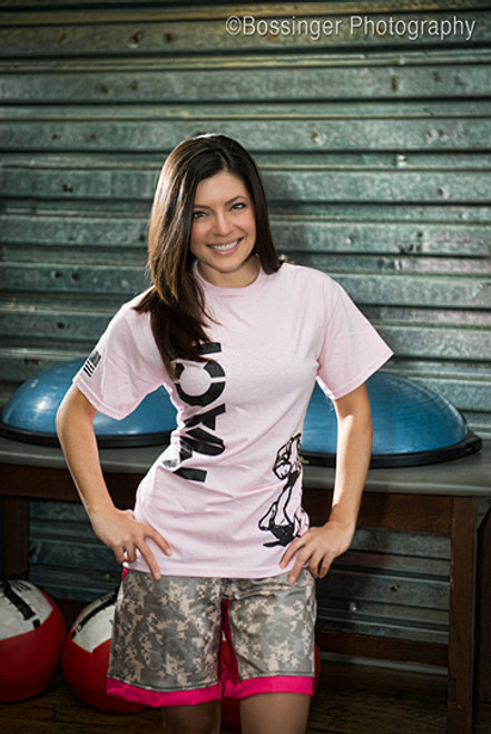 Pink MACP Fight Shirt -100% Cotton