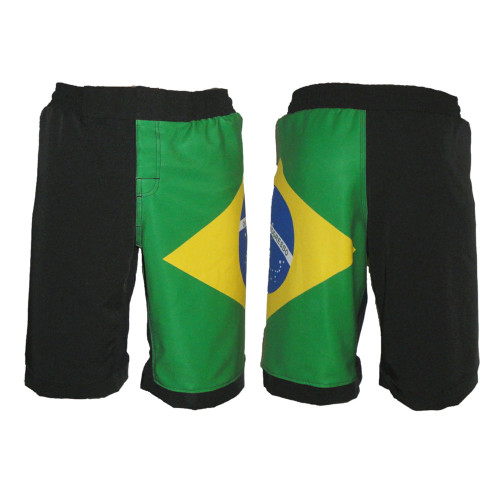 Brazil Flag MMA Shorts