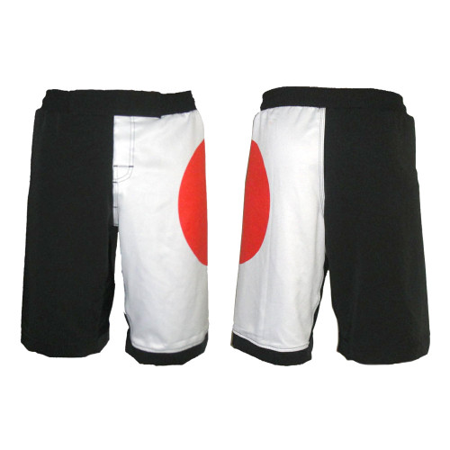 Japan Flag MMA Shorts
