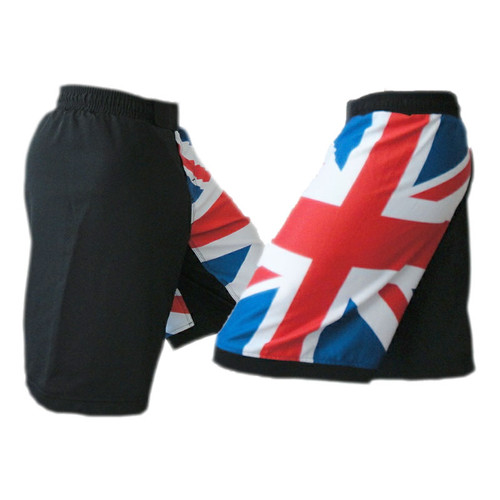 United Kingdom Flag MMA Shorts