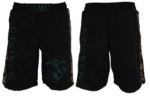 USMC MARPAT Digi Cam Stripe Fight Shorts