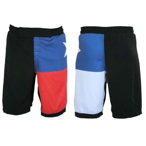 Texas Flag MMA Shorts