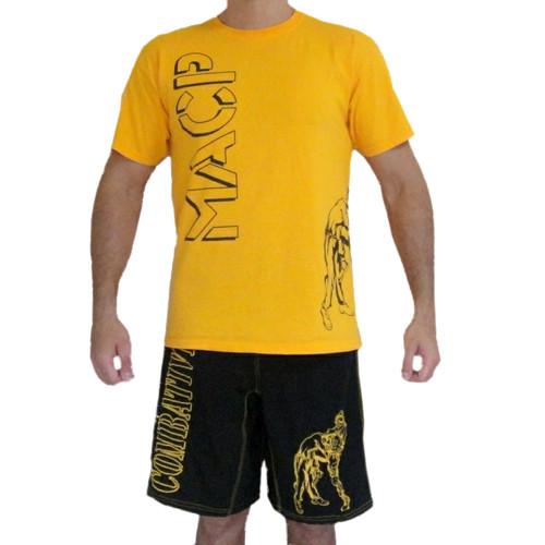 Gold Knee Fight Shirt