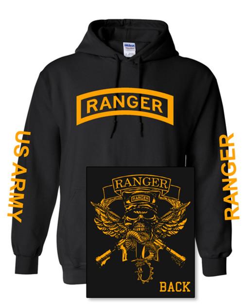 Ranger Hoodie wth Gold Print