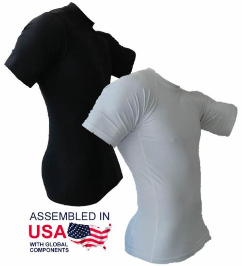 Short Sleeve Rash Guard - Assembled In The USA