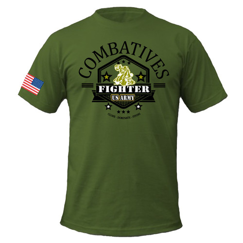 Combatives Fighter Shirt OD