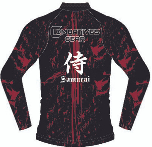 Combatives Gear Full Sleeve Samurai Rash Guard