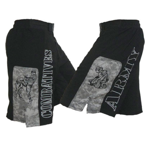 Army Combatives Panel Fight Shorts