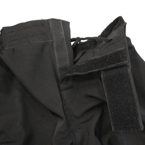 Black MMA style Athletic Shorts - No Slit in Leg