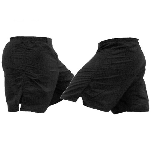 Black Female MMA Shorts