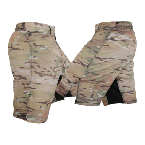 Full Multicam Digi Camo Blank MMA Fight Shorts