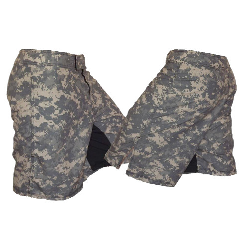 Full ACU Camouflage MMA Fight Shorts