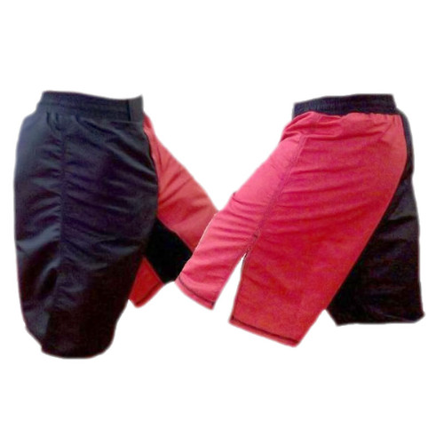 Blank MMA Shorts Two Toned Red and Black