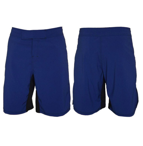 Blue MMA Fighting Shorts - Blank
