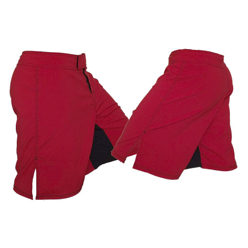 Red MMA Fighter Shorts