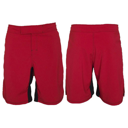 Red MMA Fighting Shorts - Blank