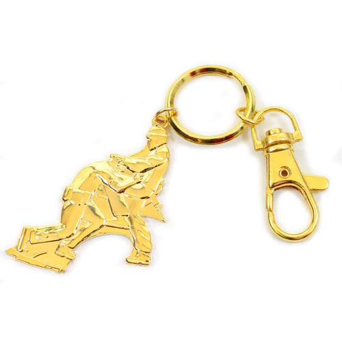 MACP Key Chain - Gold Tone