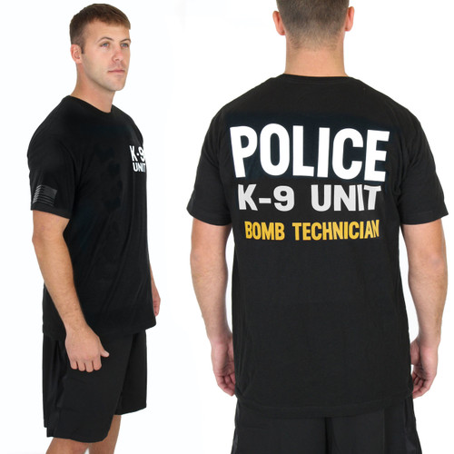 Police Bomb Technician Gold K-9 UNIT