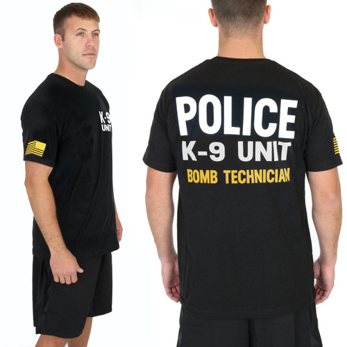Police Bomb Technician Gold K-9 UNIT