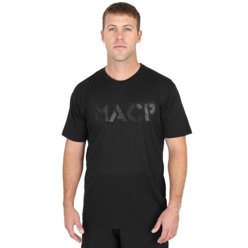 Horizontal MACP - Fight Shirt - Black Tee