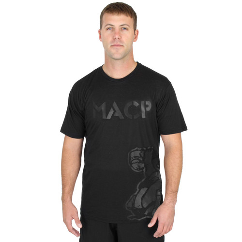 Horizontal MACP - Fight Shirt - Black Tee
