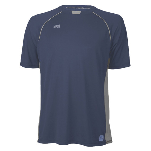Men's Soffe Battalion Tee - Navy Gunmetal ABU - Digital Air Force Accents