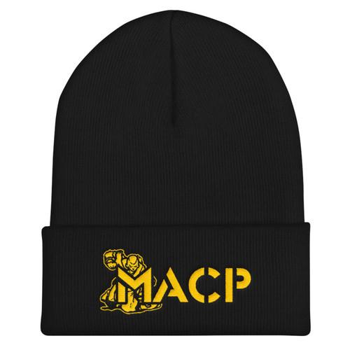 MACP Black Beanie