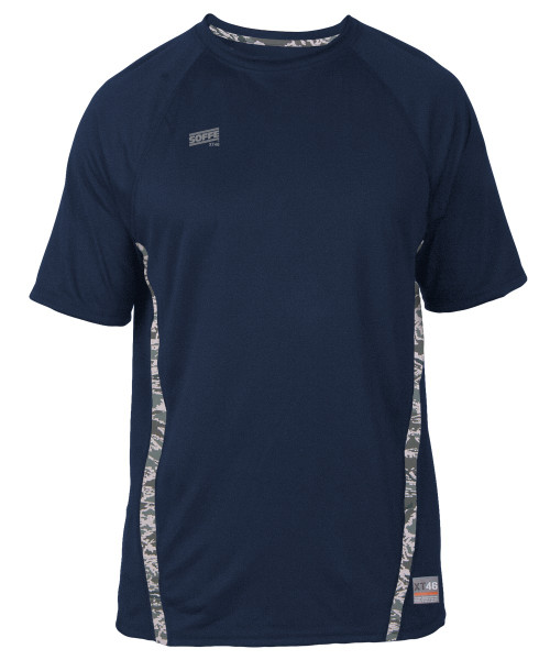 Soffe SS COMBAT - Navy with ABU Accents
