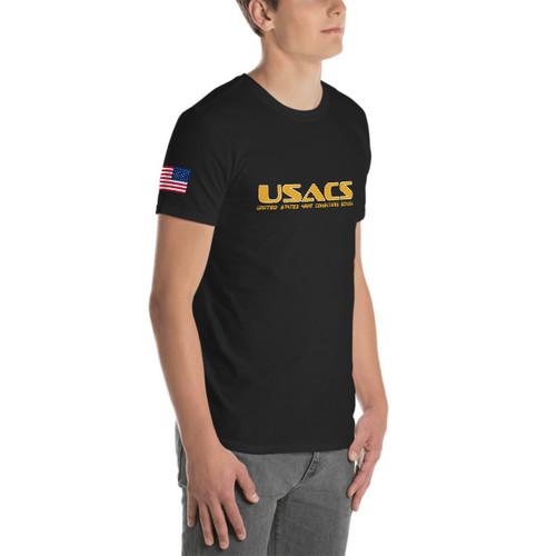 USACS - Short-Sleeve Unisex Cotton T-Shirt