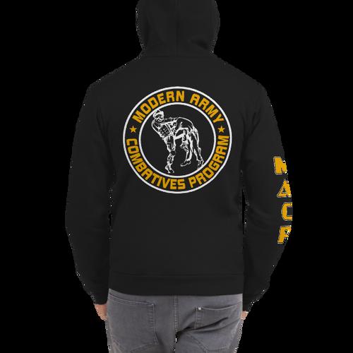 MACP Fighter Hoodie - American Apparel Cotton Poly Sweatshirt
