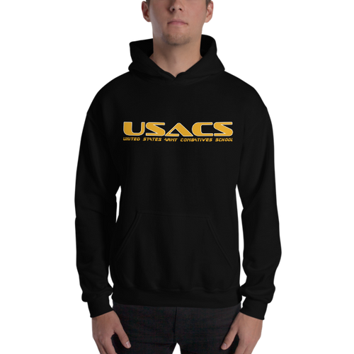 USACS - Hooded Sweatshirt 50/50 - Blank Back