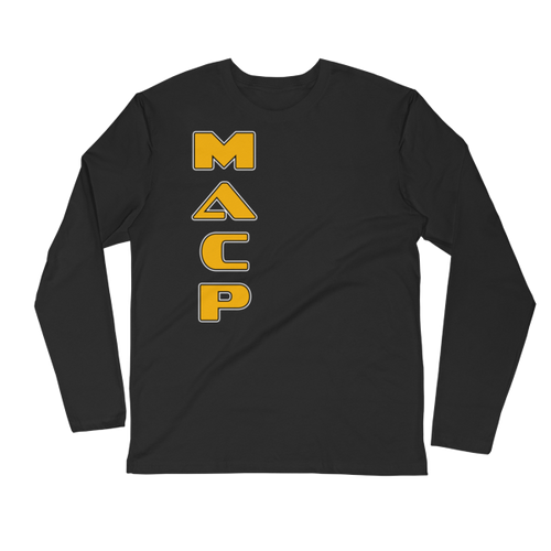 MACP Long Sleeve Fitted Crew Instructor Shirt
