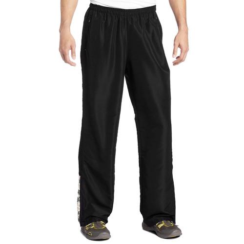 MMA Digital Insert Polyester Pants - Black & Digital Army - Soffe