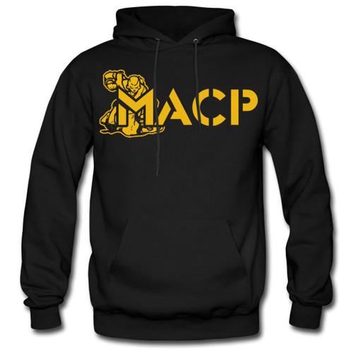 MACP Hoodie with Gold Print - 50/50
