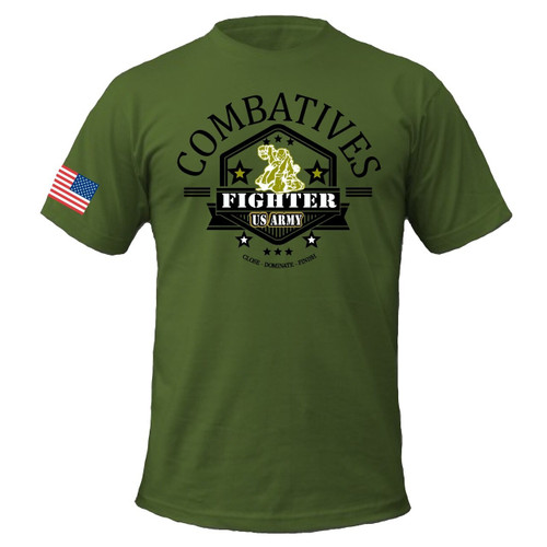Combatives Fighter Tee - 100% Cotton