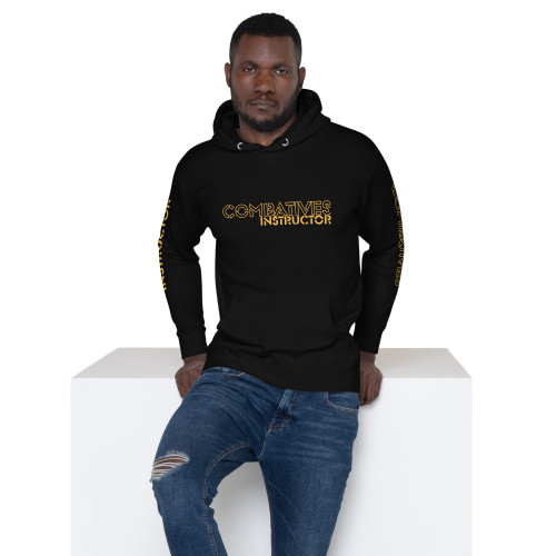 Combatives Instructor - Black and Gold Unisex Hoodie