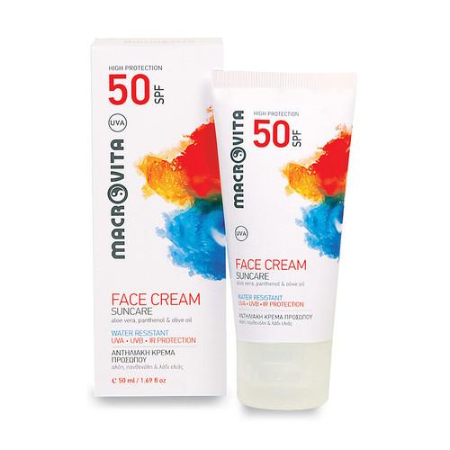 Suncare Face Cream SPF 50