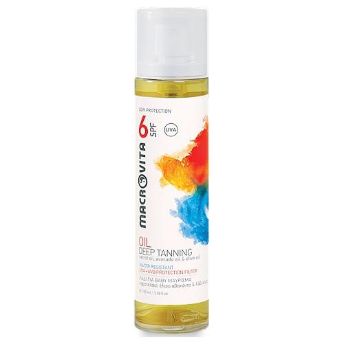 Deep Tanning Oil SPF 6