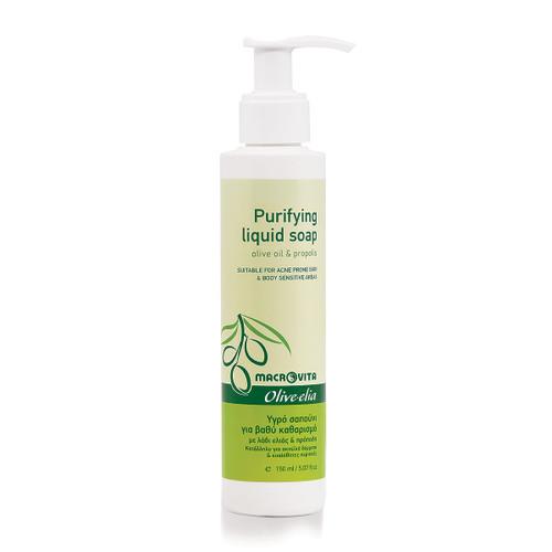 Purifying Liquid Soap Olivelia