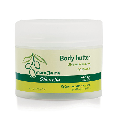 Body Butter Natural Olivelia