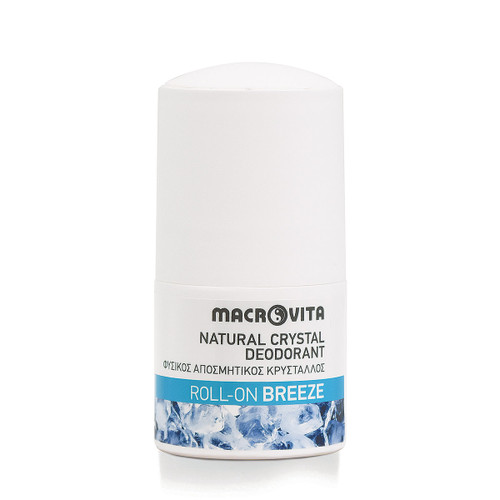 Natural Crystal Deodorant Roll-On Breeze