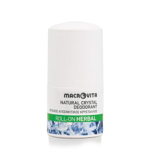 Natural Crystal Deodorant Roll-On Herbal