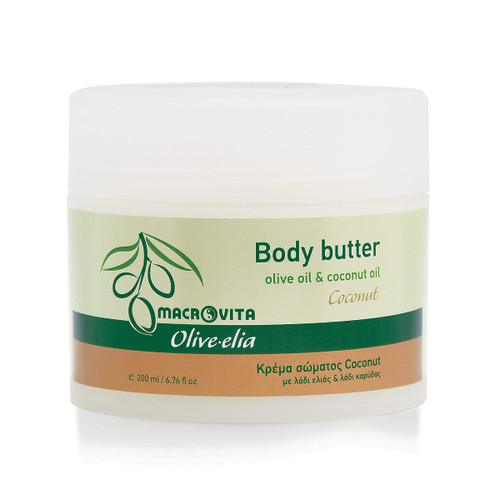 Body Butter Coconut Olivelia