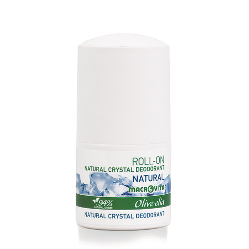 Natural Crystal Deodorant Roll-On Natural Olivelia