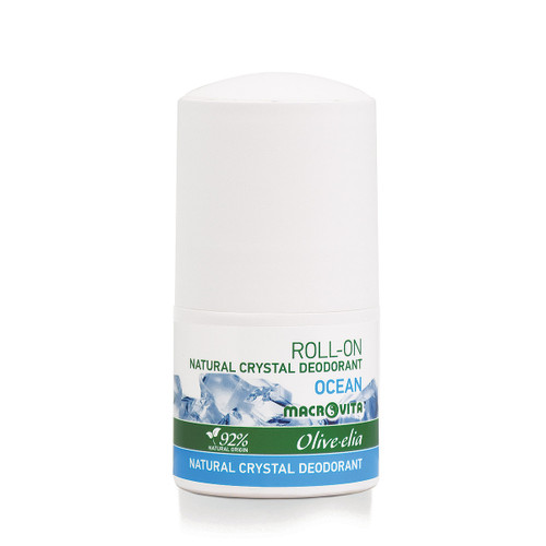 Natural Crystal Deodorant Roll-On Ocean Olivelia