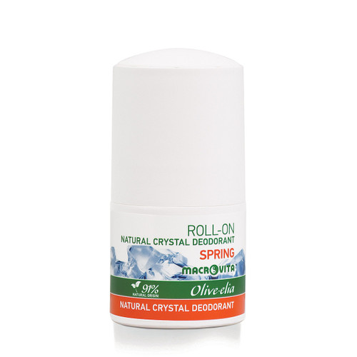 Natural Crystal Deodorant Roll-On Spring Olivelia