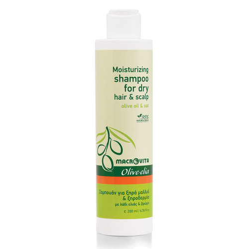 Moisturizing Shampoo for Dry Hair & Scalp Olivelia