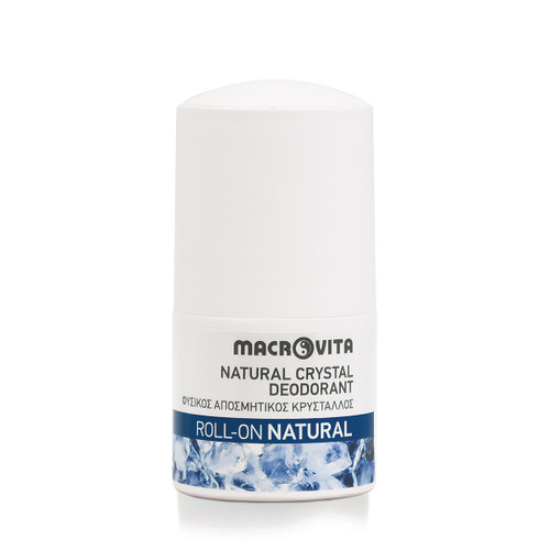 Natural Crystal Deodorant Roll-On Natural