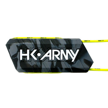 HK Army Ball Breaker Barrel Condoms - Charcoal (Black/Grey Swirl)
